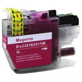 Brother LC3217M y LC3219M Magenta cartucho sustituto, reemplaza al LC-3217M y LC-3219M