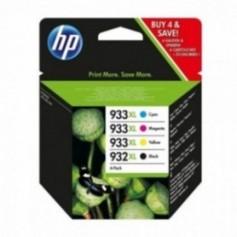 HP C2P42AE 932XL/933XL Cartucho de Tinta Original, 4 unidades, negro, cian, magenta y amarillo