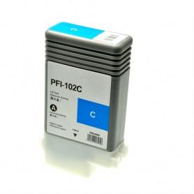 Canon PFI102 Cian cartucho sustituto, reemplaza al PFI-102