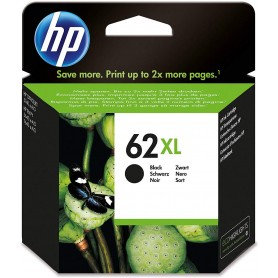 HP 62XL Negro cartucho original, C2P05AE