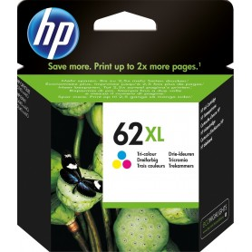 HP 62XL Color cartucho ORIGINAL, C2P07AE