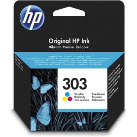 HP 303 Color cartucho ORIGINAL T6N01AE