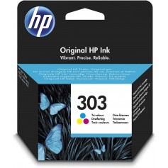 HP 303 Color cartucho ORIGINAL T6N01AE