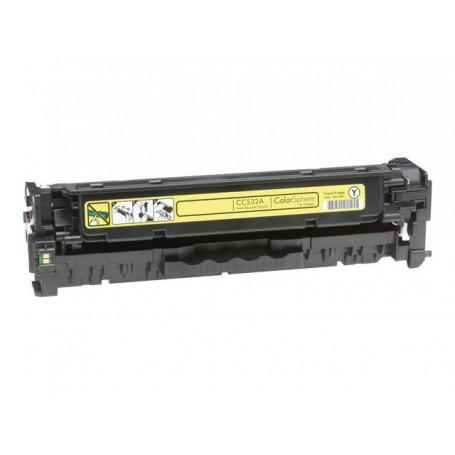 Toner sustituto HP Color Laserjet Amarillo CP2020/2025 CM2320