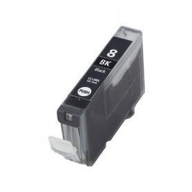 Cartucho sustituto Negro Canon CLI 8, reemplaza al CLI-8BK, 14ml de capacidad