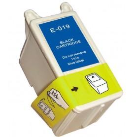 Cartucho sustituto Negro EPSON 019, reemplaza al T019, 25ml de capacidad