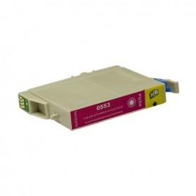 Cartucho sustituto Magenta EPSON 0553, reemplaza al T0553, 13.5ml de capacidad