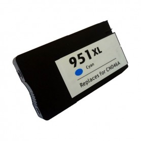 HP 951XL Cian cartucho remanufacturado, reemplaza al CN046AE