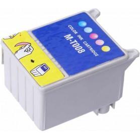 EPSON 008 Color cartucho sustituto, reemplaza al T008, 45ml de capacidad