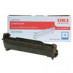 Tambor Original OKI C3300 Cyan, Ref. 43460207