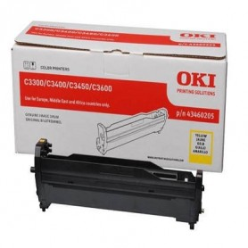 Tambor compatible OKI C3200 Amarillo
