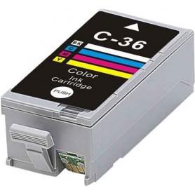 Canon CLI36 Color cartucho sustituto, reemplaza al CLI-36