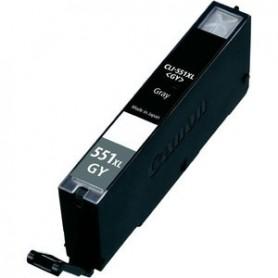 Canon CLI 551XL Gris cartucho sustituto, reemplaza al CLI 551GY XL