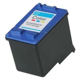 Cartucho remanufacturado Color 22XL HP reemplaza al 9352A de 17ml