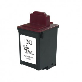 Lexmark 70 Negro cartucho sustituto, reemplaza al Nº 70 12AX970E