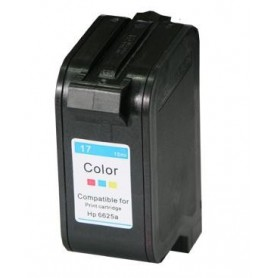 Cartucho remanufacturado Color HP 17 reemplaza al C6625, 47ml de capacidad
