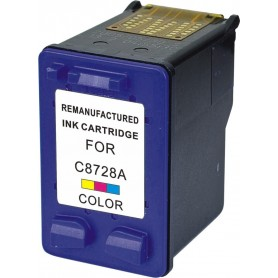 Cartucho remanufacturado Color HP 28, reemplaza al C8728A, 17ml de capacidad