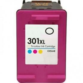 HP 301XL Color cartucho remanufacturado, reemplaza al CH564EE NUEVA VERSIÓN