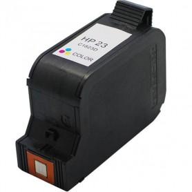 Cartucho remanufacturado Color HP 23, reemplaza al C1823