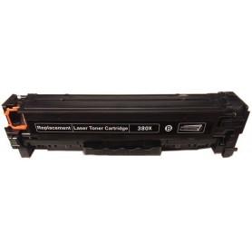 HP 380X Negro tóner sustituto, reemplaza al CF380A y CF380X, 312X