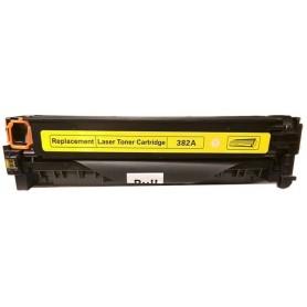 HP 382A Amarillo tóner sustituto, reemplaza al CF382A, 312A