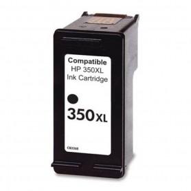 HP 350XL Negro cartucho remanufacturado, reemplaza al CB336EE