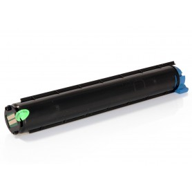 OKI B2200 / B2400 Negro tóner compatible, reemplaza al 43640302
