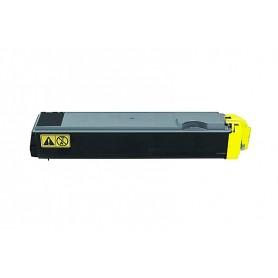 KYOCERA TK 520 Amarillo Tóner compatible, reemplaza al TK-520Y
