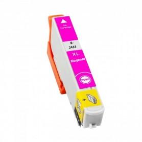 EPSON 24XL Magenta cartucho compatible, reemplaza al T2423 y T2433 de alta capacidad