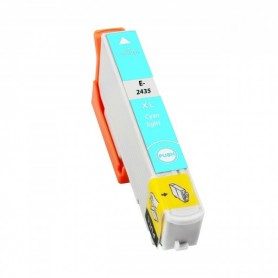 EPSON 24XL Cian claro cartucho compatible, reemplaza al T2425 y T2435 de alta capacidad
