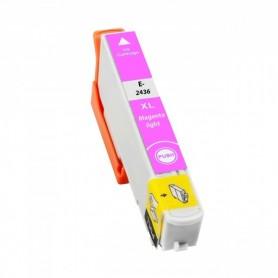 EPSON 24XL Magenta claro cartucho compatible, reemplaza al T2426 y T2436 de alta capacidad