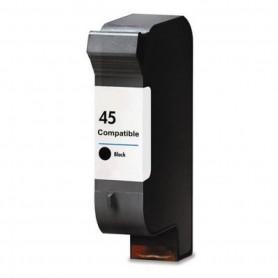 HP 45 Negro cartucho remanufacturado, reemplaza al 51645A