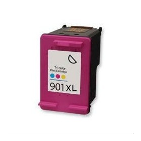 HP 901XL Color cartucho remanufacturado, reemplaza al CC656AE