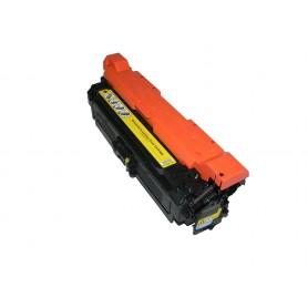 Toner sustituto HP LJ CP 3525CN/3525DN/3525X Amarillo