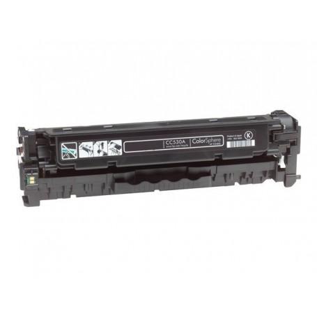 Toner sustituto Negro HP 530A, reemplaza al CC530A