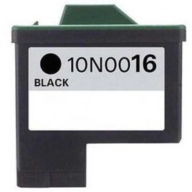 Cartucho remanufacturado Negro Lexmark 16, reemplaza al Nº 16