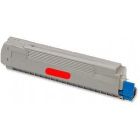 Toner sustituto Magenta OKI C8600M y C8800M, reemplaza al Oki 43487710