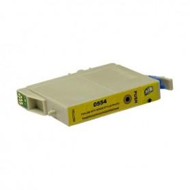 EPSON 0554 Amarillo cartucho sustituto, reemplaza al T0554, 13.5ml de capacidad