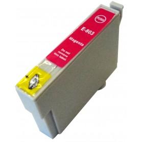 Cartucho sustituto Magenta EPSON 0803, reemplaza al T0803, 14ml de capacidad