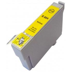 EPSON 0804 Amarillo cartucho sustituto, reemplaza al T0804