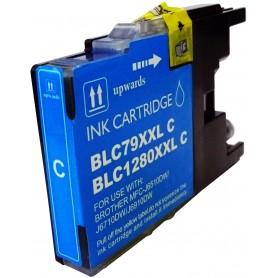 Brother LC1280C Cyan cartucho sustituto, reemplaza al LC-1280 C, XXL ultra alta capacidad