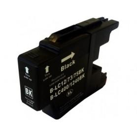 Brother LC1240Bk y LC1220Bk Negro cartucho sustituto, reemplaza al LC-1240 Bk y LC-1220 Bk, XL alta capacidad