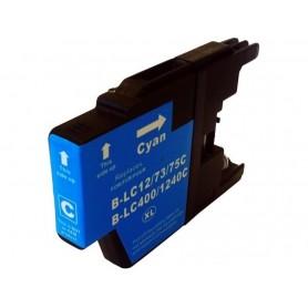 Brother LC1240C y LC1220C Cyan cartucho sustituto, reemplaza al LC-1240 C y LC-1220 C, XL alta capacidad