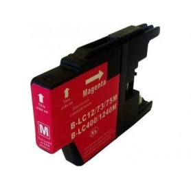 Brother LC1240M y LC1220M Magenta cartucho sustituto, reemplaza al LC-1240 M y LC-1220 M, XL alta capacidad