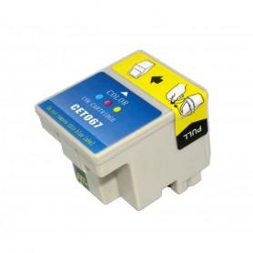 EPSON 067 Color cartucho sustituto, reemplaza al T067, 27ml de capacidad