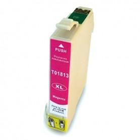 EPSON 18132 Magenta cartucho sustituto, reemplaza al T1813 y T1803 de 12ml de capacidad 18XL