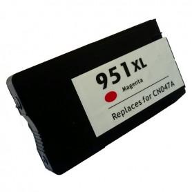 HP 951XL Magenta cartucho remanufacturado, reemplaza al CN047AE
