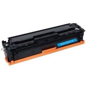 HP 411A Cyan tóner sustituto, reemplaza al CE411A