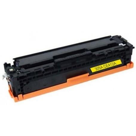 HP 412A Amarillo tóner sustituto, reemplaza al CE412A