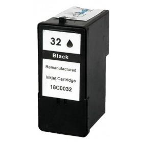 Lexmark 32 Negro cartucho remanufacturado, reemplaza al Nº 32 018CX032E